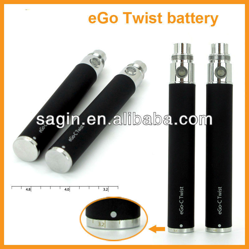 Best variable voltage 3.2V ~ 4.8V ego c twist for wax vaporizer clearomizer