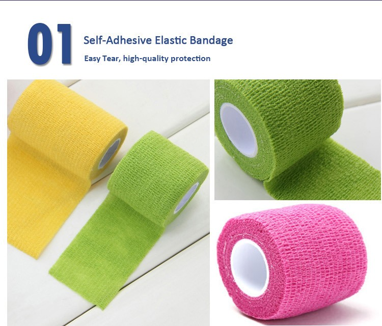 Medical High Elastic Cotton Bandage