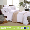 Gold embroidery stripe hotel luxury european bedding set 40s cotton 250~300TC