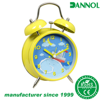 2016 Children's clock in Guangzhou kids cartoon alarm clock birthday gifts for guests