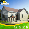 Fast construction steel structure villa house luxury