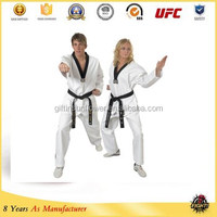 Custom logo printed or embroidered uniformes de taekwondo ,taekwondo poomsae dobok