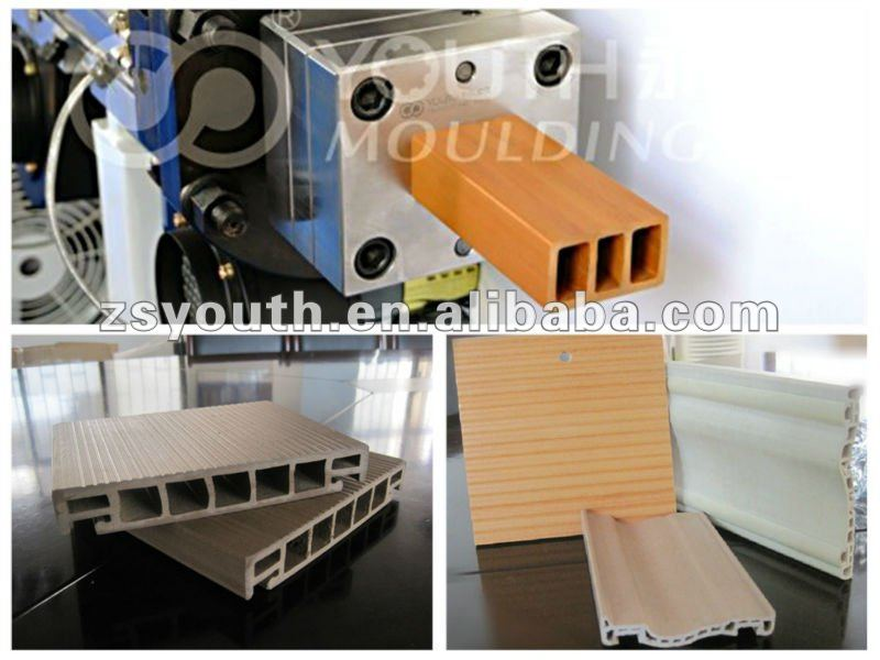 wood plastic composite mold