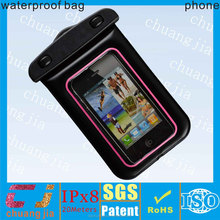 Top quality Waterproof cellphone case for iphone4/Cell Phone waterproof Bag