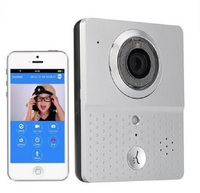 Home security wifi doorbell system support Android & iOS App
