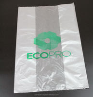 Top level hot selling store fabric non plastic trash bags