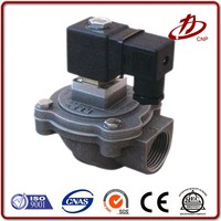 CE certification aluminum alloy normally open solenoid valve