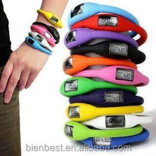 Wholesale new fashion Anion Sports Wrist Bracelet watch Digital Silicone LED Wristwatches for students/men/women