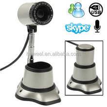 5.0 Mega Pixels USB 2.0 Retractable Driverless PC Camera / Webcam with MIC, Cable Length: 1.2m(Grey)