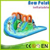 New Point Jump Splash Castle With Pool Inflatable Slide