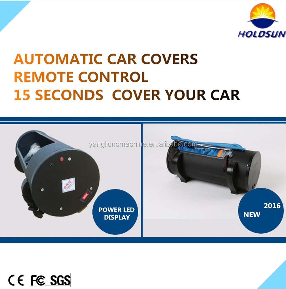hail resistance automatic car cover with 4mm EVA material with good quality and reasonable price