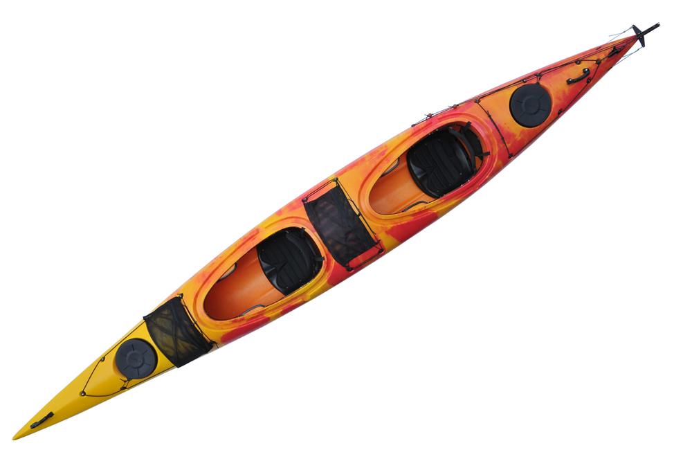 Sit on top kayak fishing kayak wholesale double seat kayak for Double fishing kayak