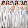 ZH0719Q Wholesale short summer chiffon long strap sexy bridesmaid dresses