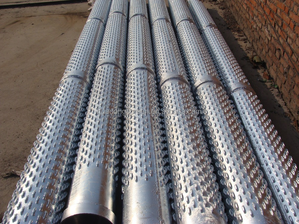 High Strength Bridge Slotted Screen for sand contral/deep well filter pipe used in sand water to purify