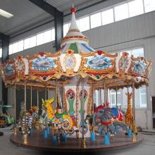 Indoor & Outdoor Theme Park Rides Kids Carousel For Sale