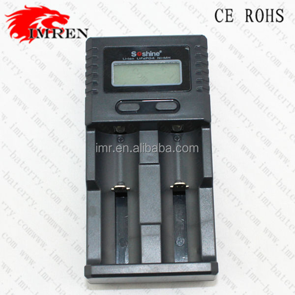 Wholesale Soshine H2 Intelligent Universal LCD Battery Charger For Li-ion/Ni-CD/Ni-MH/LifePo4