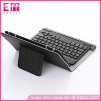 Universal Tablet keyboard Detachable Bluetooth Keyboard leather case for 7inch 10inch Tablets