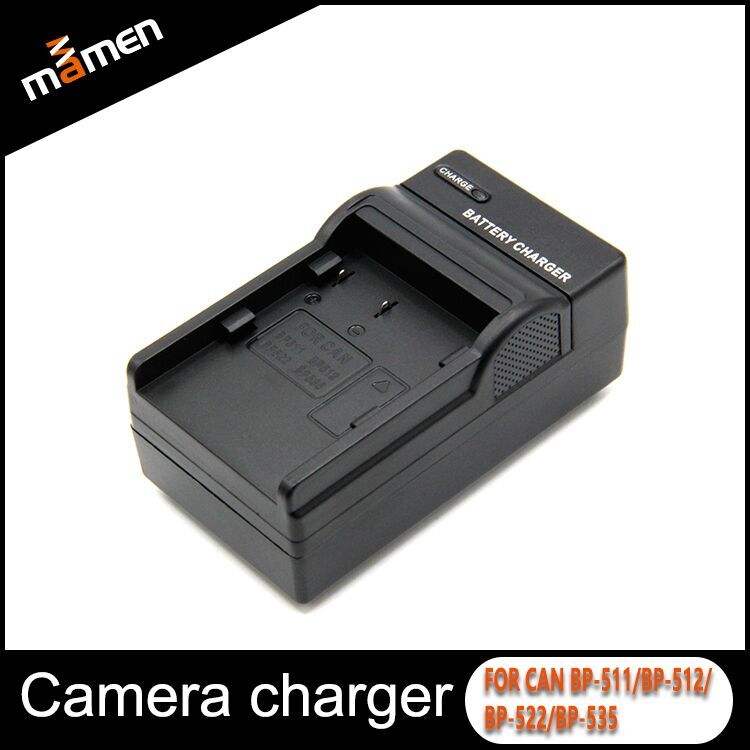 Manmen High Quality Camera Battery Charger BP-511 Portable Travel Charger For Canon EOS 10D 20D 30D 40D 50D 300D D30 D60 DSLR