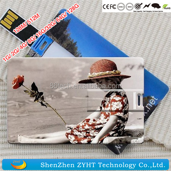 Promotion usb flash card 2gb,1gb-32gb flip card usb flash drive with logo,logo printing usb flash drive business cards 2gb 4gb