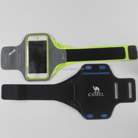 2017 new professional factory made outdoor phone protective lycra sports armband bag for iPhone