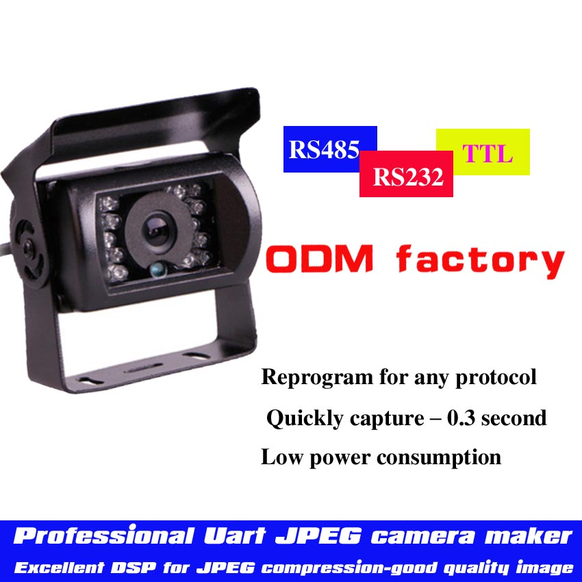 (Serial Jpeg Camera Module) Best Selling Car Roof Camera/Car Camera /Professional Uart JPEG Camera Manufacturers