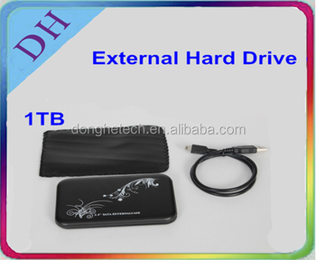 [external hdd] Genuine portable hard drive/ 2.5'' external hard disk 1tb usb2.0