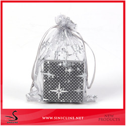 Sinicline 2015 best selling organza bags for jewelry