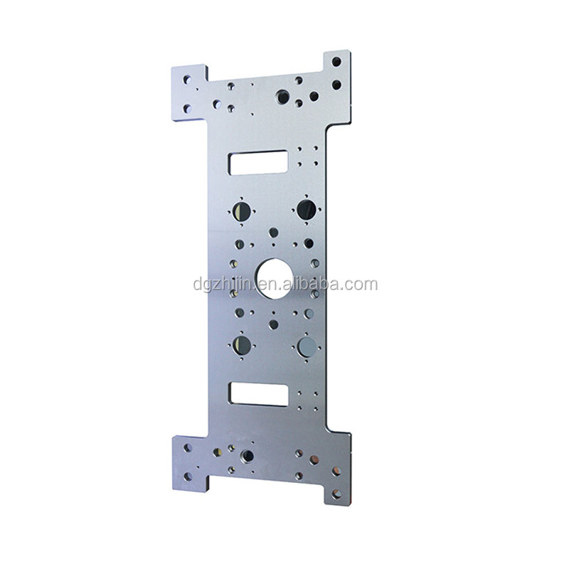 China supplier CNC machined parts motor mounted plate oem