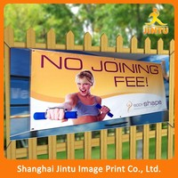 2016 Outdoor Hanging Style PVC Flex Banner Advertising
