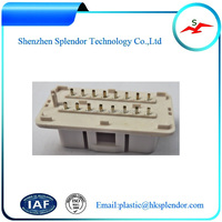 High Quality Plastic molding manufacturing company OBD injection molding
