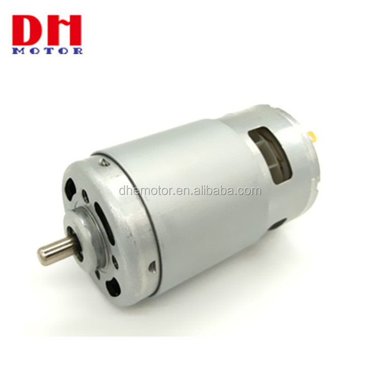 RS-997 18V 540W Brush DC Motor For Trimming Machine Ice Auger and Electric Drill