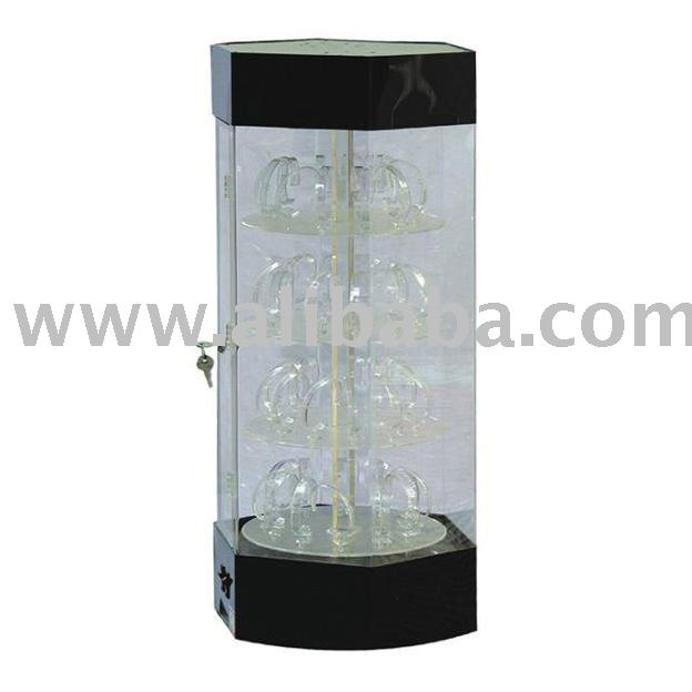Rotating Acrylic Watch Display Case Zakka Canada