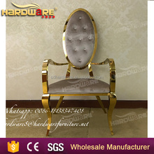wholesale discount cheap golden king throne chair with PU leather