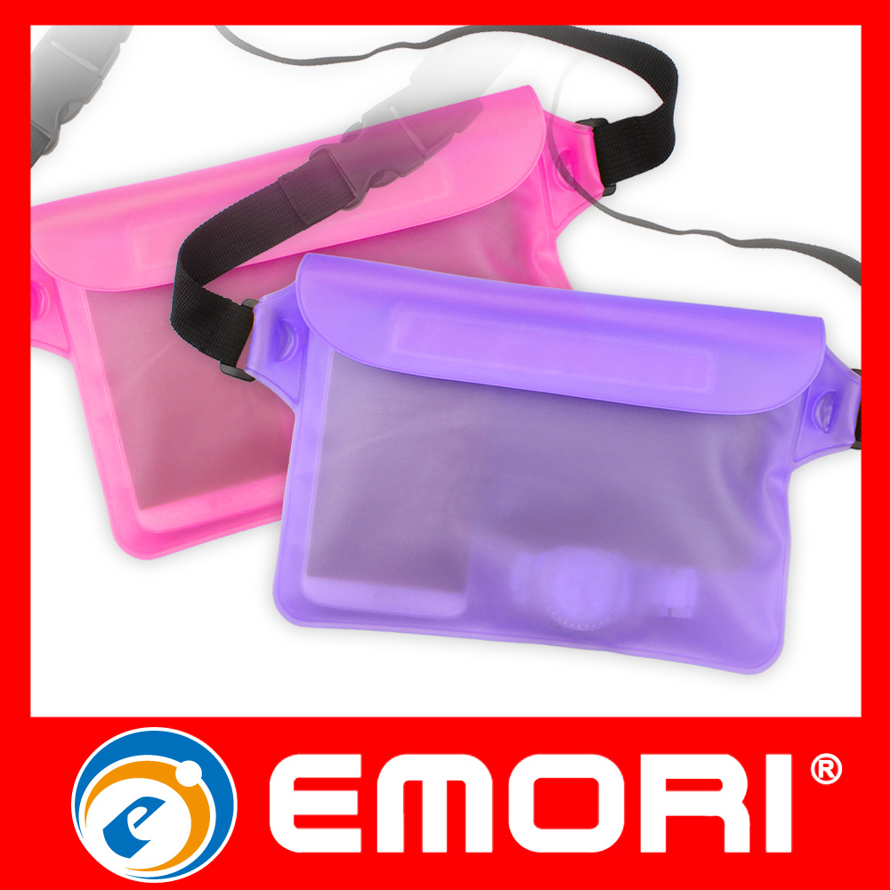 Buisness Gifts Washable PVC Waterproof Bag For Phone With Waist Strap