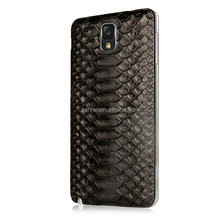 Dust Cover for Samsung Galaxy Note 3 Fashion 100% Python Skin Leather