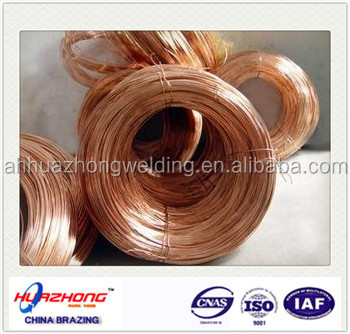 Easy-flow copper phosphorous alloys brazing square rod BCup-2 /air conditioner copper pipe /tube