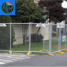 Crowd Control Barrier Decorative Temporary Fence(30 Years Factory)