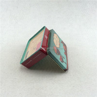 Arch shaped wedding candy tin for gift packaging