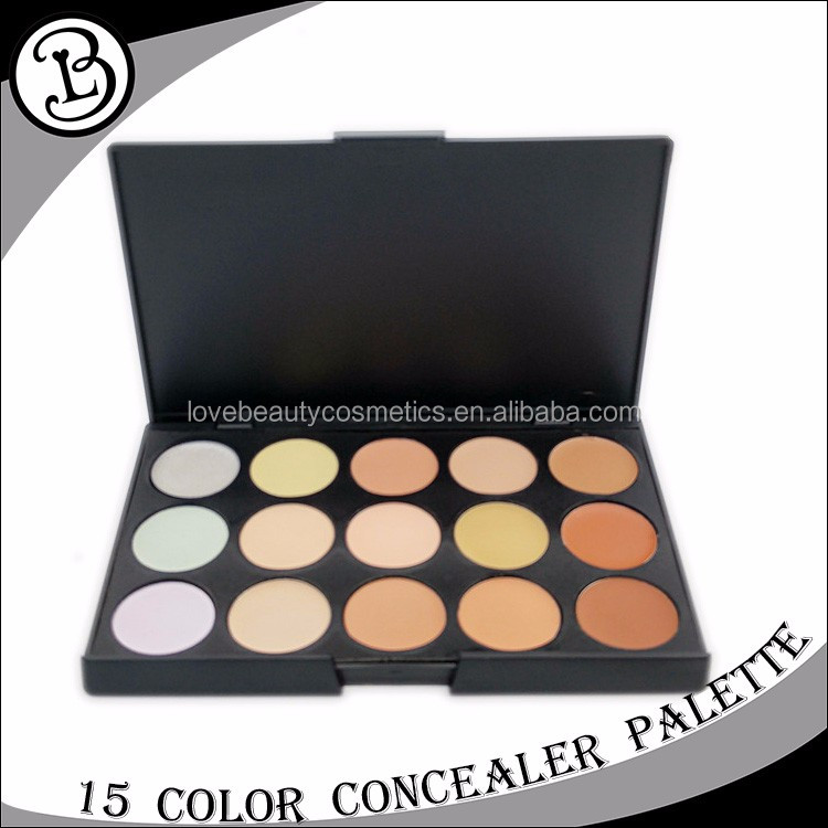 Welcome Custom ! Plastic container 15 colors concealer stick