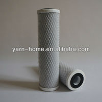 High chlorine reduction activated carbon block filter cartridge