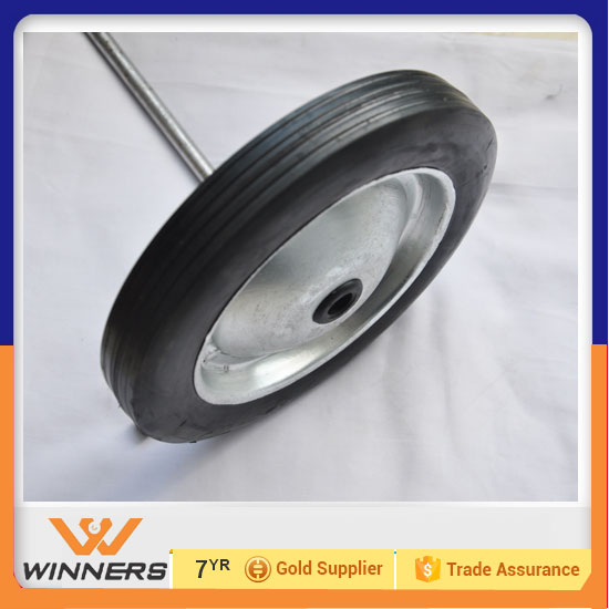 8 inch solid tires for children vehicle airless tires for barrow