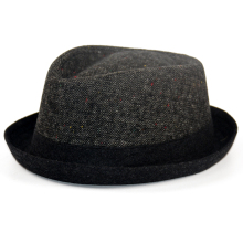 Topselling Mens Winter Upbrim Porkpie Fedora Hat