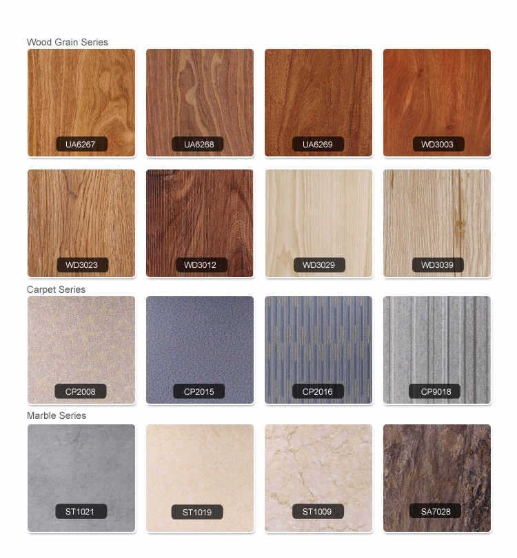 2018 modern PVC wood flooring for hosptial