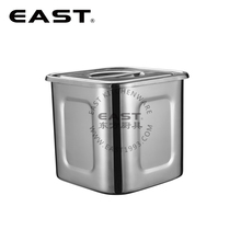 Stainless steel fillet welding square sauce barrel soup pot soup container
