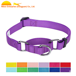Wholesale nylon Pet Solid Color dog flea collar Collection