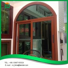 New design modern thermal break standard sliding aluminum window sizes