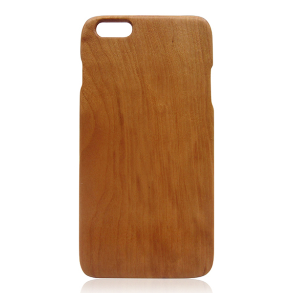 Cherry wood phone shell pure wood phone case cheap wooden case for iPhone 6