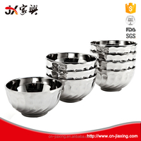 Explosion models thick crust stainless steel flower bowl
