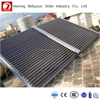 Industrial use solar water collector for hotel, restaurant, school and swimming pool