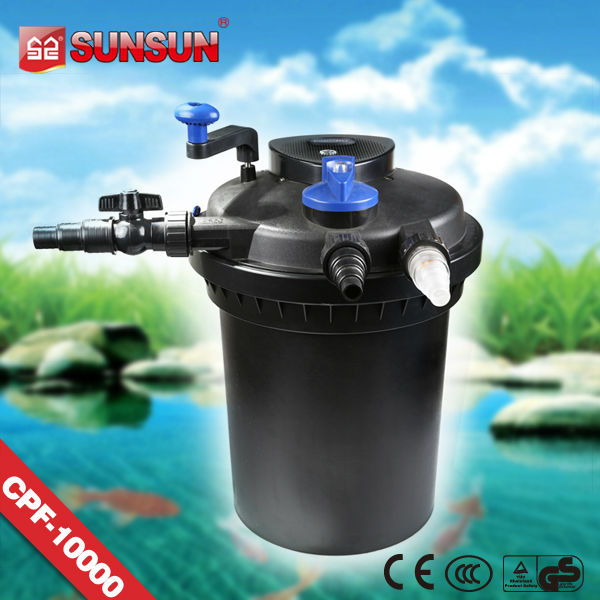 SUNSUN artificial pond fish filter vat for pond and fish farm garden pond (CPF series)